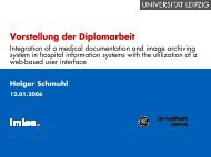 Integration of a medical documentation and image archiving system ...