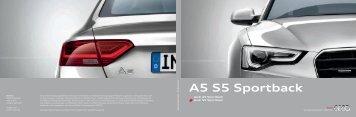 Katalog Audi A5 Sportback 14.5 MB - Autohaus Elmshorn
