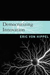 Democratizing Innovation - instructional media + magic