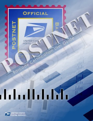 POSTNET Barcode Certification Technical Guide - instructional ...