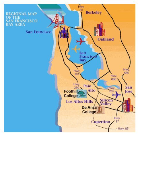 Campus Maps Foothill De Anza Community College District