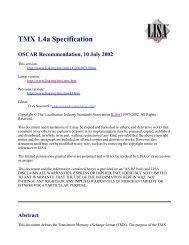 TMX 1.4a Specification - instructional media + magic