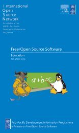 Free/Open Source Software: Education - instructional media + magic