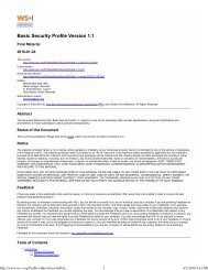 Basic Security Profile Version 1.1