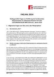 FAQ KAL 2014 Stand 2013-12-04