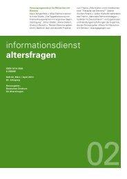 Heft 02/2013 - Deutsches Zentrum für Altersfragen