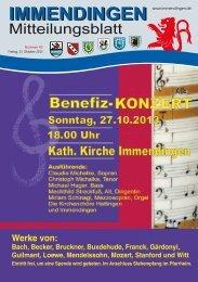 Mitteilungsblatt KW 43 - Immendingen