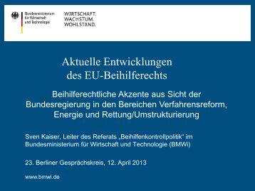 3. Rettung und Umstrukturierung - Berliner Gesprächskreis zum ...