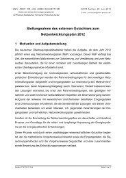 Stellungnahme als externer Gutachter - Institut für ...
