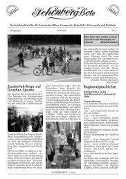 sroda Zauberlehrlinge auf Goethes Spuren Regionalgeschichte