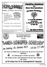 Mitteilungsblatt Oktober 2013 - Teil 2 - Immenreuth