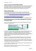IBM DB2 Newsletter  Inhaltsverzeichnis Anmerkungen zum letzten ... - Seite 2