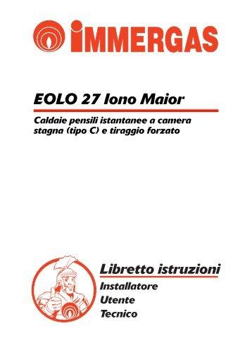 Zeus 21 25 vip zeus 21 25 iono immergas for Caldaia immergas eolo maior 28 kw