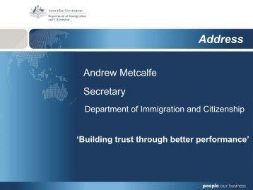 Slides - Department of Immigration & Citizenship
