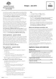 Form 990i - Department of Immigration & Citizenship