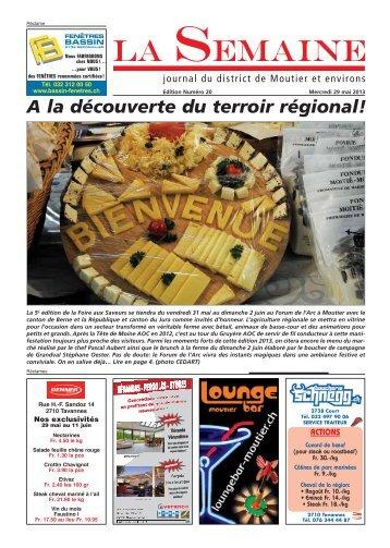A la découverte du terroir régional! - Immo Jura