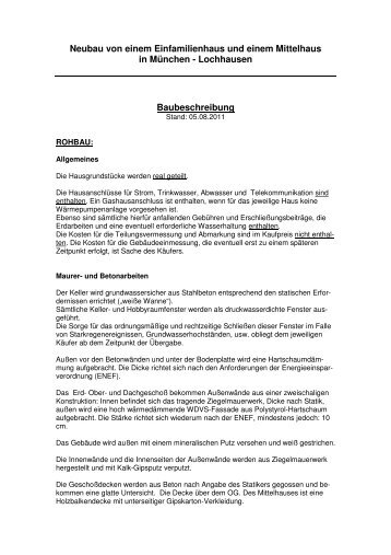 Baubeschreibung - Immo-Makler-Schwarz.de