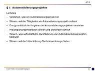 1 Automatisierungsprojekte - Universität Stuttgart