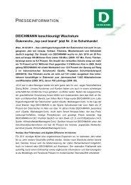 Deichmann-Gruppe weiter auf Wachstumskurs