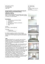 Gut geschnittene 3-Zimmer-Balkonwohnung mit ... - Immobilien Zirwes