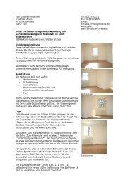 Helle 2-Zimmer-Erdgeschoßwohnung mit ... - Immobilien Zirwes