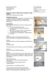 Moderne 2-Zimmer-Wohnung im Ärztehaus in ... - Zirwes Immobilien