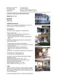 3-Zimmer-Wohnung in Köln-Hochkirchen Objekt ... - Zirwes Immobilien