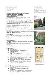 Doppelhaushälfte in Ruhiglage mit Garage ... - Zirwes Immobilien