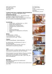 4-Zimmerwohnung in gepflegtem ... - Zirwes Immobilien