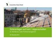 Präsentation_Solar IBS_Itelpfad - Immobilien Basel-Stadt