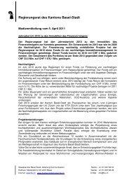 MM RR_Jahresbericht 2010 - Immobilien Basel-Stadt