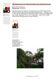 Mietwohnung mit Teilmansarde und Gartennutzung - IMMOWiesel