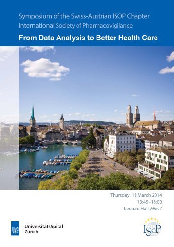 From Data Analysis to Better Health Care - Fortbildung