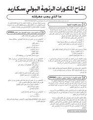 VIS Pneumococcal Polysaccharide vaccine - Arabic