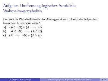 Mathematische Grundlagen - imng