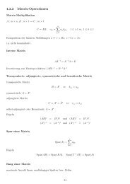 4.2.2 Matrix-Operationen - imng