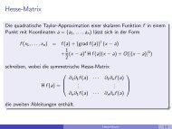 Hesse-Matrix - imng