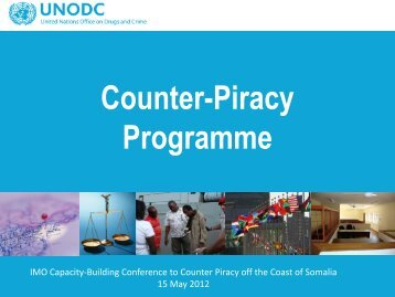 UNODC Counter-Piracy Programme - IMO