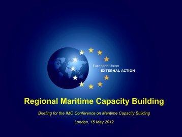 Regional Maritime Capacity Building - IMO