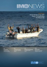 World Maritime Day 2011 Piracy: Orchestrating the Response - IMO