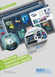 Delivering essential maritime information digitally - IMO