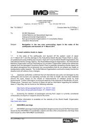 Ref. T2-OSS/2.7 Circular letter No.3175/Rev.1 1 April 2011 To ... - IMO