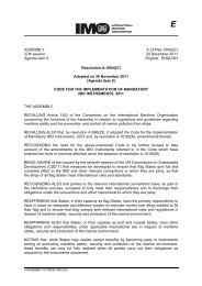 ASSEMBLY 27th session Agenda item 9 A 27/Res.1054(27 ... - IMO