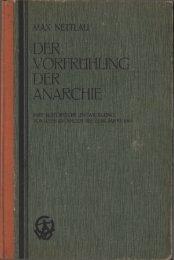 Teil 1 - Anarchistische Bibliothek und Archiv