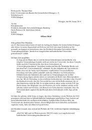 Professor Dr. Theodor Ebert Erster Vorsitzender des Bundes für ...