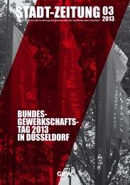 Stadtverbandszeitung - Heft 3/2013 - GEW