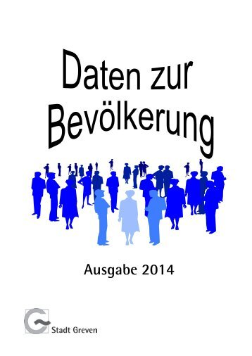"""Daten zur Bevölkerung"" 2014 - Stadt Greven"