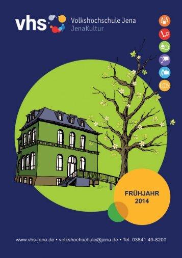 Programmheft Frühjahr 2014 - Jena