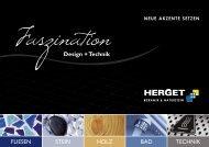 Faszination Design & Technik - Das Neueste aus den Bereichen Fliesen, Naturstein, Bad und Technik