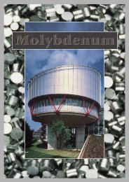 Molybdenum Brochure - IMOA